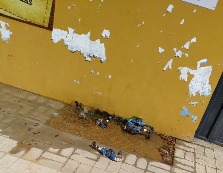 Vândalos destroem hidrômetros em Palmas