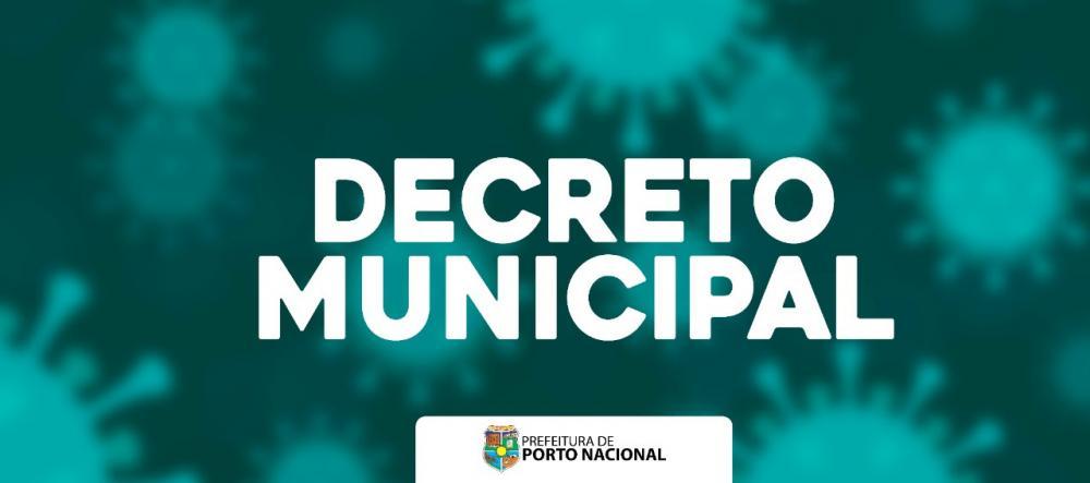 Prefeitura de Porto Nacional publica decreto exigindo o uso de máscara no comércio e locais públicos