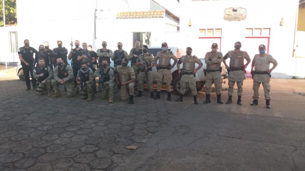 Contra o tráfico de Drogas, Polícia realiza Operação Serpente da Serra em Natividade e Chapada da Natividade