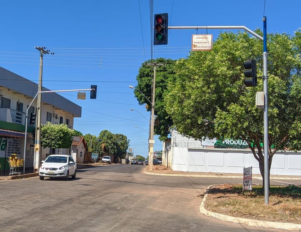 Em Gurupi prefeitura não consegue cumprir novo prazo e semáforos continuam sem funcionar