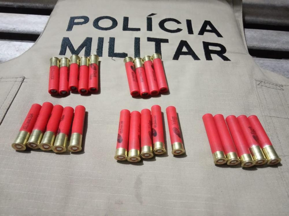PM  detém homem e apreende 25 munições em Gurupi