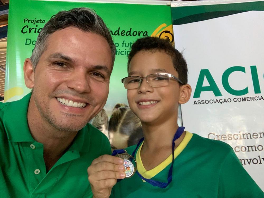 ACIG faz entrega das premiações do projeto Criança Empreendedora