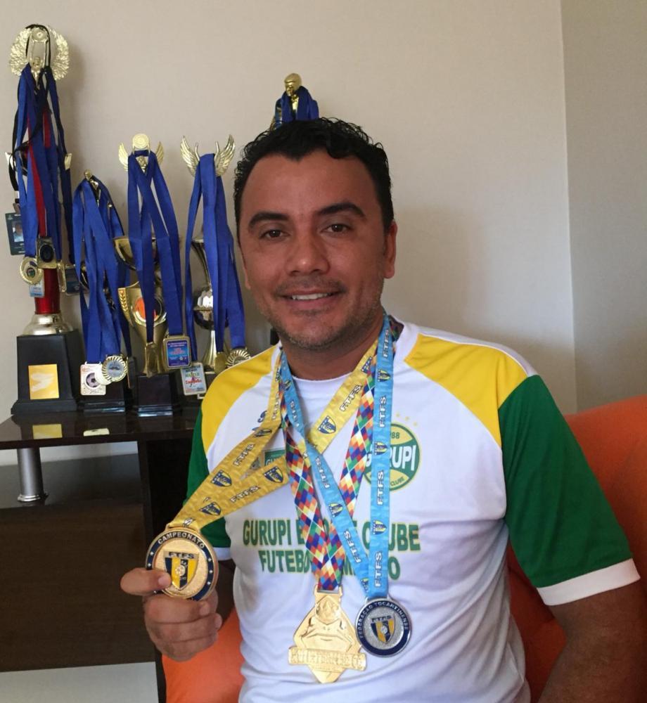 Técnico gurupiense Estevam Neto se destaca em competições nacionais