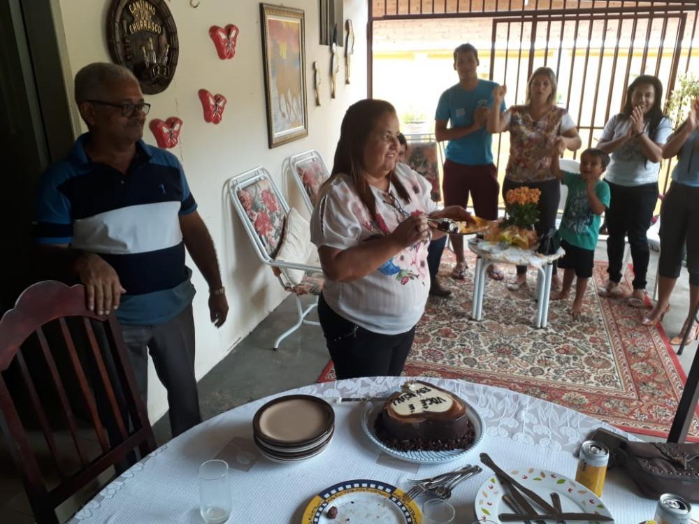 O parabéns de hoje vai para Zenaide Dias, Secretária de Cultura e Turismo de Gurupi