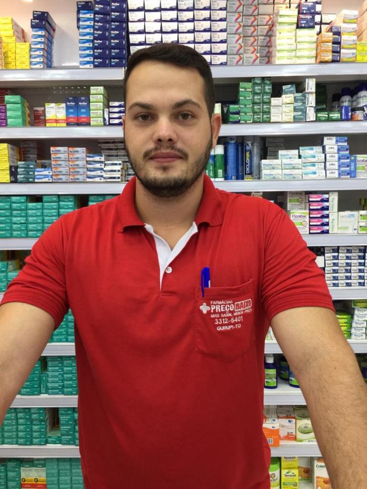 Em Gurupi a procura por álcool gel , máscaras e vitaminas nas farmácias deixam estoques zerados