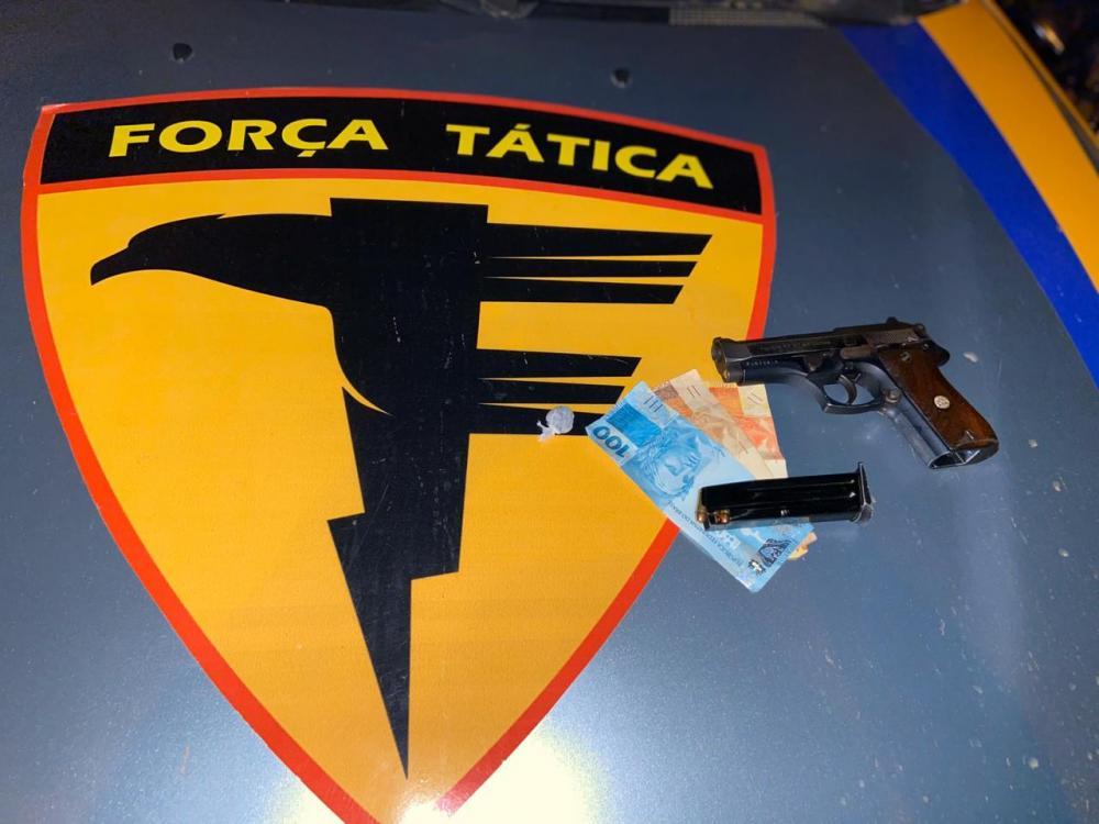 Dupla acusada de tentativa de homicídio é presa pela Polícia Militar em Gurupi