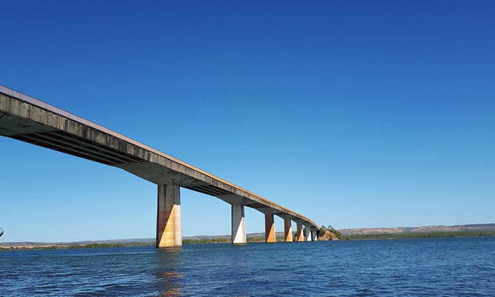 Governo solicita nova contratação de crédito à Assembleia para construção da ponte de Porto Nacional