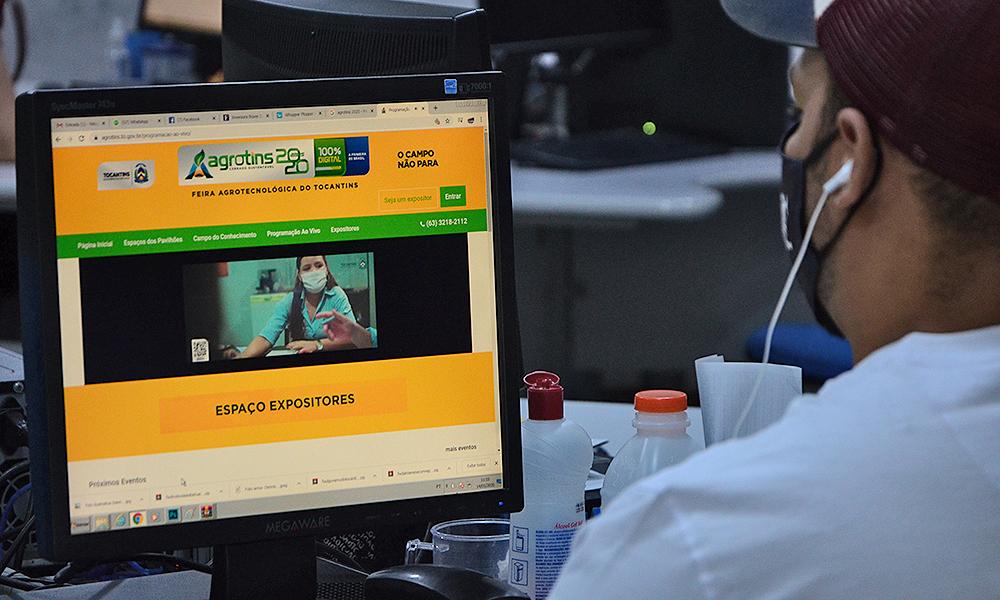 Governo do Tocantins desenvolve moderna plataforma on-line para promover a Agrotins 2020 100% Digital