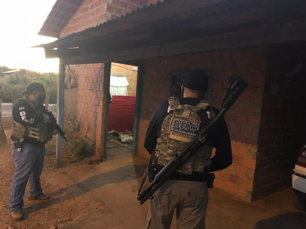 Operação Américo Gama da Polícia Civil prende último assaltante da tentativa de roubo a um carro-forte em Pequizeiro
