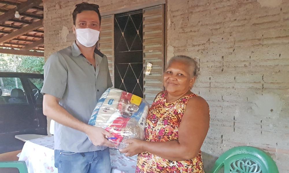 Alimentos entregues pelo Governo do Tocantins ajudam pequenos agricultores minimizarem impactos da pandemia