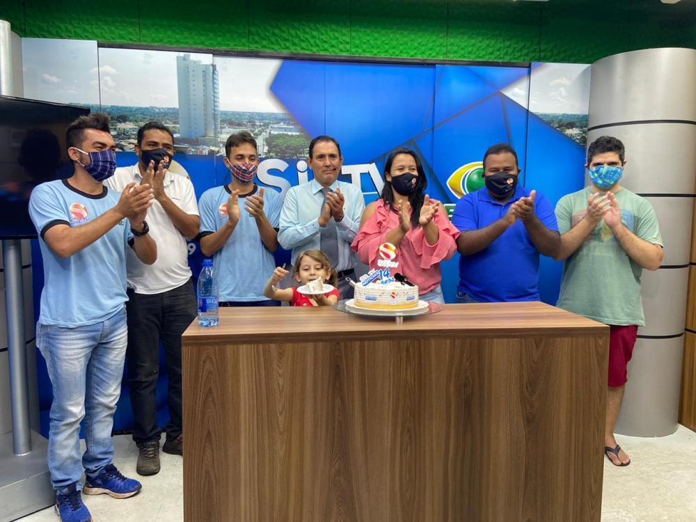 Sil TV notícias comemora 14 anos  em Gurupi